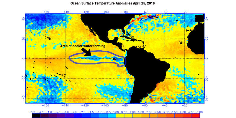 Weather Pattern Shows Strong La Niña is Looming